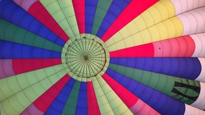 Preview wallpaper air balloon, colorful, flight