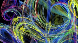 Preview wallpaper background, colorful, colors, lines