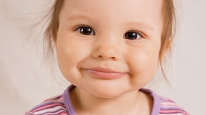 Preview wallpaper child, emotion, face, girl, sweet