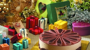 Preview wallpaper cake, decoration, gifts