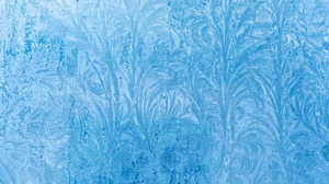 Preview wallpaper frost, glass, pattern, snow, winter