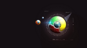 Preview wallpaper browsers, firefox, google, scheme, system