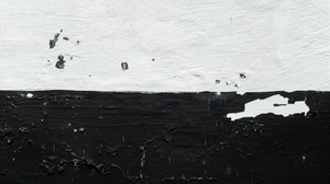 Preview wallpaper bw, grunge, paint, wall