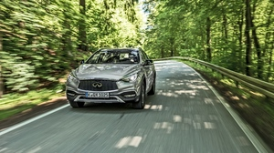Preview wallpaper front view, infiniti, qx30