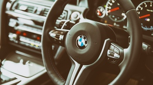 Preview wallpaper bmw, interior, m6, steering wheel