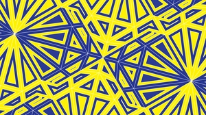Preview wallpaper geometry, lines, pattern, tangled, yellow