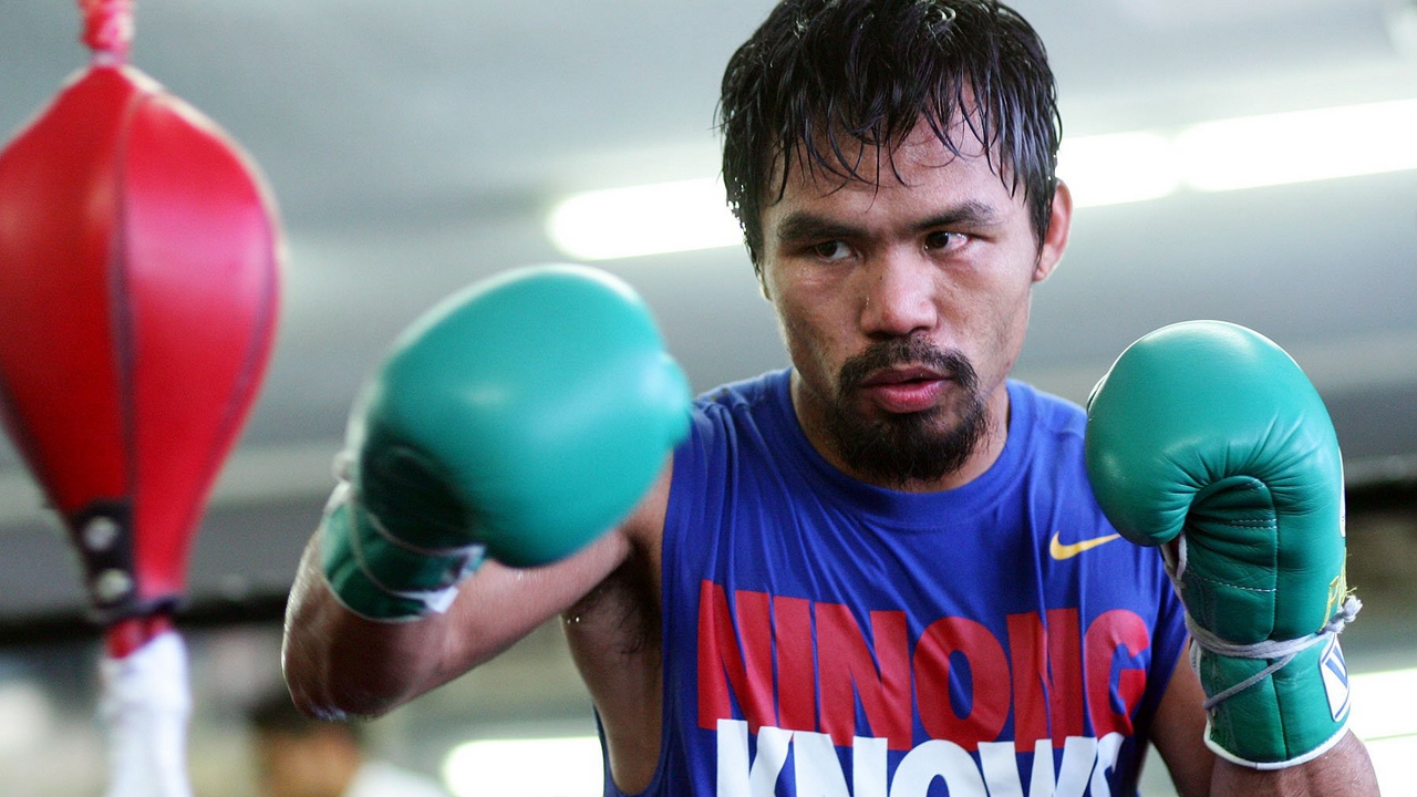 manny pacquiao sport boxing 2015