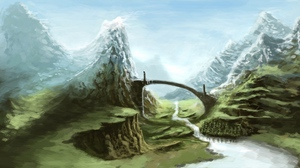 Preview wallpaper art, nature, skyrim