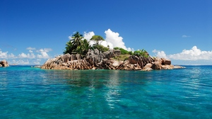 Preview wallpaper island, seychelles, tropical