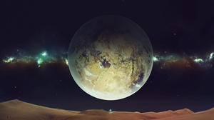 Preview wallpaper planet, sky, space