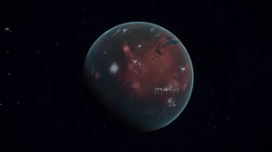 Preview wallpaper mars, planet, space, surface