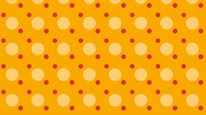 Preview wallpaper circles, color, shape, surface, yellow