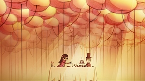 Preview wallpaper care, drawing, food, table