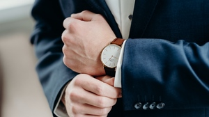 Preview wallpaper business, hands, style, suit, watch