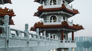 Preview wallpaper architecture, building, oriental, pagoda, temple