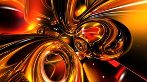 Preview wallpaper bright, gold, light, line, shiny
