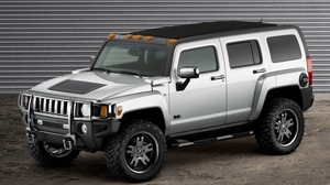 Preview wallpaper auto, gray, h3, hummer