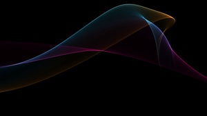 Preview wallpaper background, colorful, lines, smoke, wave