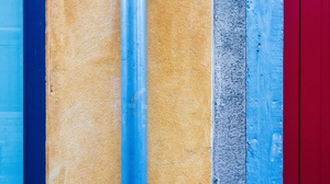 Preview wallpaper lines, multicolored, texture, vertical, wall