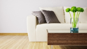 Preview wallpaper comfort, design, modern, parquet, room, sofa