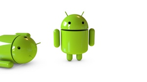 Preview wallpaper android, glass, robot