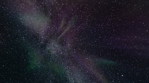 Preview wallpaper astronomy, northern lights, space, stars