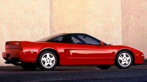 Preview wallpaper acura, cars, nsx, red, side view, sports, style