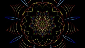 Preview wallpaper abstraction, lines, mandala, pattern, symmetry