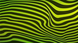 Preview wallpaper black, green, lines, stripes, wavy