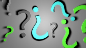 Preview wallpaper background, bright, question marks, signs