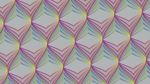 Preview wallpaper colorful, optical illusion, pattern, texture, volume