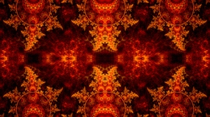 Preview wallpaper abstraction, fiery, fractal, pattern, tangled