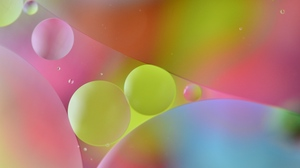 Preview wallpaper air, color, following, multicolored, oil, water