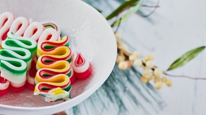 Preview wallpaper candy, christmas, colorful, new year, sweets