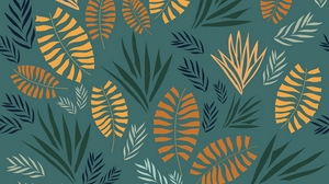 Preview wallpaper leaves, pattern, patterns, plants, texture