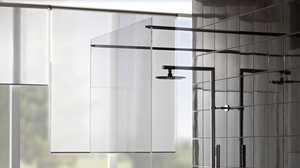 Preview wallpaper glass, showers, tiles