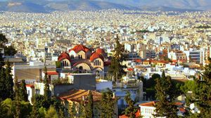 Preview wallpaper athens, building, city, greece