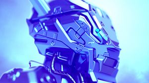 Preview wallpaper art, iron, metal, robot